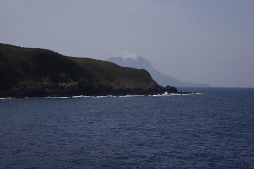 Takeshima island and Satsuma-Iwo-jima island