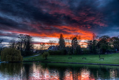 111/366 Another Doctors Pond Sunset (Mark Seton) Tags: sunset oneaday nikon places photoaday miscellaneous essex hdr pictureaday d60 yabbadabbadoo greatdunmow dunmow uttlesford doctorspond project365190412 project365365111