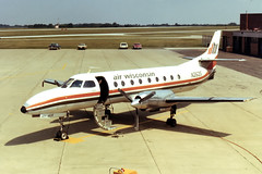 Air Wisconsin Metroliner at Akron-Canton (chrisjake1) Tags: swearingen metroliner cak airwisconsin akroncanton kcak n262s