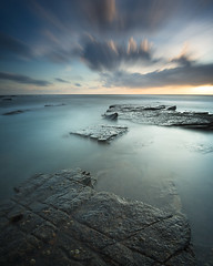 Old Hartley (Alistair Bennett) Tags: longexposure seascape sunrise coast rocks whitleybay tynewear oldhartley nd30 gnd075he nikkorafs1635mmƒ4gedvr