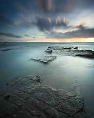 Old Hartley (Alistair Bennett) Tags: longexposure seascape sunrise coast rocks whitleybay tynewear oldhartley nd30 gnd075he nikkorafs1635mm4gedvr