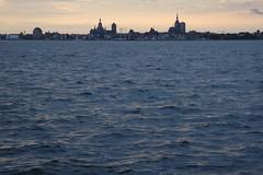 Stralsund Skyline von Altefähr