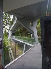 Walkway to old barracks and explosives magazine (cumulo-nimbus) Tags: architecture hongkong asiasociety april2012