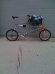 Mini cargo (jimn) Tags: animal bicycle brooklyn handmade fillet cargobike crmo brazed
