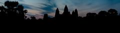 Angkor Wat Panorama before Sunrise
