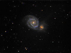 M51 fail shot (chris_swatton) Tags: light sky wheel night dark ss tube hampshire mount telescope filter whirlpool galaxy astrophotography short orion 314 astronomy m51 ccd 130 tmb 80mm skywatcher lrgb atik heq5 130mm Astrometrydotnet:status=solved 314l tmb130ss Astrometrydotnet:version=14400 shorttube Astrometrydotnet:id=alpha20120645684045