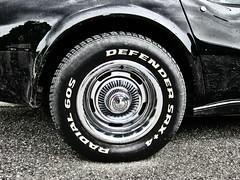 Defender SRX+4 (Jan Egil Kristiansen) Tags: wheel corvette kongsberg img9848 blackcorvette bakhjul defendersrx4 radialdekk sandsvrmoen