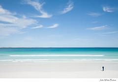 Australia (john white photos) Tags: sea summer man beach coast fishing sunny australia coastal southaustralia pristine coffinbay eyrepeninsula sensationbeach
