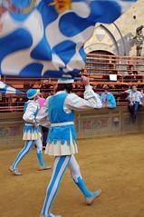 Palio, Siena (MikePScott) Tags: camera italy sign logo lens italia flag events banner flags tuscany siena toscana palio builtenvironment architecturalfeatures nikon18200mmf3556 nikond300 featureslandmarks