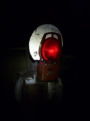 bog standard (sth475) Tags: railroad night train dark railway equipment fred flashing bog taillight endoftrain