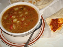 Green Chili Stew (austin tx) Tags: newmexico albuquerque frontierrestaurant