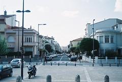 perpignan (skies above) Tags: france cars film buildings minolta sunny perpignan