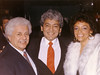 Tito Puente with Pete and Juanita
