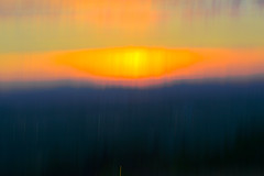 Summer Evening (Karen McQuilkin) Tags: sunset utah nikon greatsaltlake summerevening icm intentionalcameramovement karenandmc weternsky