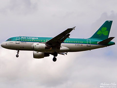 Aer Lingus --- Airbus A319 --- EI-EPR (Drinu C) Tags: plane heathrow aircraft sony airbus dsc aerlingus lhr a319 egll hx100v eiepr adrianciliaphotography