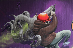 canimals part2. feuer frei (Pixeljuice23) Tags: streetart graffiti wiesbaden mainz friendlyfire pixeljuice