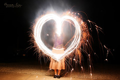 Independence Day Fun (Anna Parish) Tags: light girl fun fire 4th july independence sparker