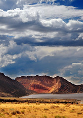 Flaming gorge from antelope flats (houstonryan) Tags: county art print photography utah driving photographer ryan houston flats photograph area antelope gorge campground flaming northeastern daggett houstonryan