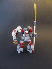 Estate Gaurd (Wyrk Wyze) Tags: robot lego hard suit mecha bot mech moc hardsuit saywhatnow