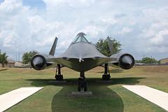 SR-17 Blackbird, U. S. Air Force (61 (64)-7979), Texas, Lackland Air Force Base (EC Leatherberry) Tags: texas display aircraft military lockheed coldwar usairforce bexarcounty sr17 lacklandairforcebase lockheedaircraft reconnaissanceaircraft sr17blackbird