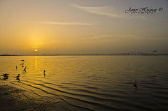Sunrise Fort De Soto-Skyway Bridge-Florida (Javier Huanay) Tags: bridge sunrise de fort soto skyway blinkagain bestofblinkwinners