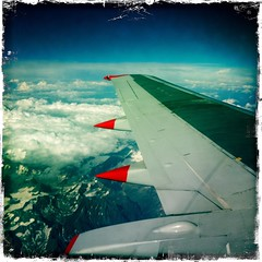 mont blanc (art crimes) Tags: alps colour clouds flying colours shadows aeroplane montblanc milehigh jet2