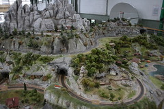 2012_nyarals_0422 (emzepe) Tags: park railroad museum table model centre budapest eisenbahn rr center science muse childrens interactive modell cultural 2012 nyr budai nyarals budapesti terepasztal jlius millenris csodk palotja kzpont kulturlis jtszhz modellvast interaktv termszettudomnyos kultrkzpont