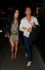 Nancy Dell'Olio and Bruno Tonioli out and about in Mayfair together London, England