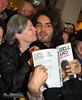 Fans attend Russell Brand book signing 'My Booky Wook' at Easons. Dublin, Ireland