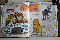 Paris Travel Journal - Carnavalet Museum (noriko.stardust) Tags: trip travel holiday paris france art museum illustration watercolor painting notebook drawing diary journal craft blogger musee note abroad watercolour entry carnavalet notebookism