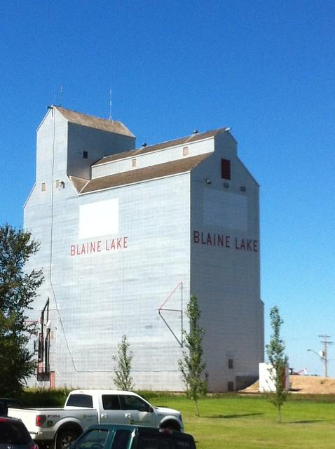 Blaine Lake grain elevator