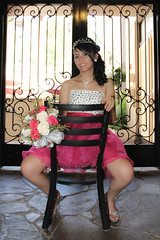 Quinceanera session-24 (Karina Franco Wedding Photography) Tags: birthday pink roof girl sunglasses lady youth ramp chica dress balcony young 15 teen hispanic latina diva quinceanera