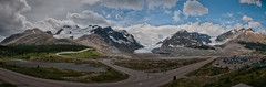 Columbia Icefield Panorama (petechar) Tags: panorama canada alberta hdr banffnationalpark columbiaicefield