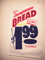 bread $1.99 (Fion N.) Tags: life city urban wisconsin typography design living unitedstates exhibition milwaukee handlettering typecon johndowner gf1 hansondodgecreative panasoniclumixgf1 aigawisconsin
