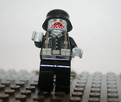 nazi zombie! (Spontaneous♠Raptor) Tags: germany lego zombie nazi helmet german ww2 cod worldwar2 blackops callofduty worldatwar brickarms nazizombie