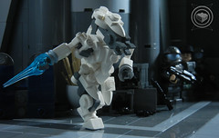Covenant Elite (BrickTechStudios) Tags: new 2 3 brick alexandria star 1 tv marine order jackal with lego 4 ghost halo banshee architect part elite link hunter hornet wars reach studios combat update grunt brute spartan mongoose evolved wraith moc odst