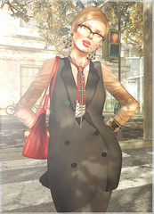- masculine chic - (FlowerDucatillon) Tags: flower fashion blog post tram secondlife pixel ison slupergirls flowerducatillon