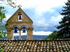 The bells of Santo Stefano (altamons) Tags: italy holiday holidays europe italia perugia assisi umbria altamons santostefanoassisi