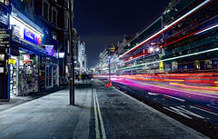 Traffic on the Strand (Anatoleya) Tags: 3 london night strand canon prime long exposure traffic mark f14 iii le 5d 24mm hdr mkii f14l 5d3 anatoleya