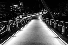bridge of light (JEO Photography) Tags: california ca street bridge light blackandwhite sandiego streetphotography