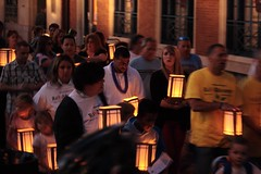 Rally for Recovery Luminaria Walk