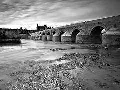 Puente-Romano (P.P.Sanchez) Tags: andaluca crdoba puenteromano nd110 degradadoneutro