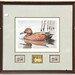 121.  1985-1986 Federal Duck Stamp, Signed Print, &