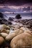 Rubbish Photo ([[BIOSPHERE]]) Tags: sunset sea beach against rocks plastic sewage rubbish surfers waste recycle landcape spoilt cotvalley porthnanven