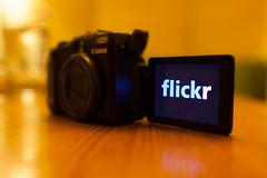 Nine years (2/3) (tompagenet) Tags: camera flickr display nine 9 flickrversary flickrlogo canonpowershotg12