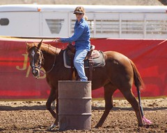 Dewey Barrel Race (Garagewerks) Tags: arizona horse woman sport female race all sony country barrel arena rodeo dewey cowgirl athlete equine 50500mm views50 views100 views200 views150 f4563 slta77v
