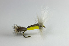 Foam Body Yellow Humpy (Masi Hast) Tags: flyfishing flytying