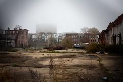 (patrickjoust) Tags: morning usa house slr abandoned home fog digital americ