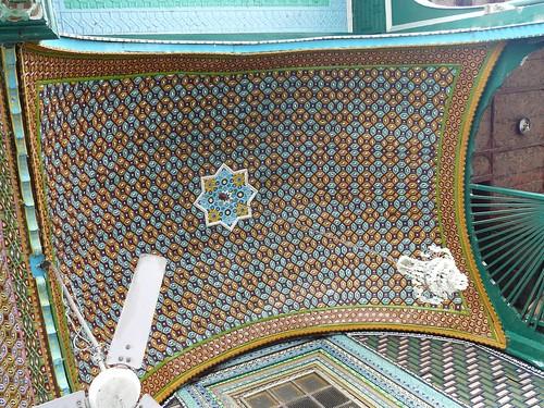 Khanqa Shah Hamdan Entrance porch ceiling 2
