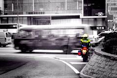 Hong Kong Police's Brammo Enertia Plus LE (Law Enforcement) on patrol in Central (omak) Tags: cameraphone hk bike electric one police hong kong motorbike le motorcycle plus law enforcement ifc iphone enertia